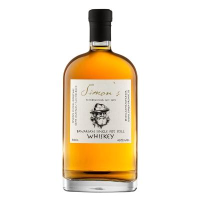 Simon's Bavarian Single Pot Still Whiskey 40% vol. 0,5l