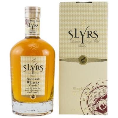 Slyrs Bavarian Single Malt Whisky 43% Vol. 0,7l