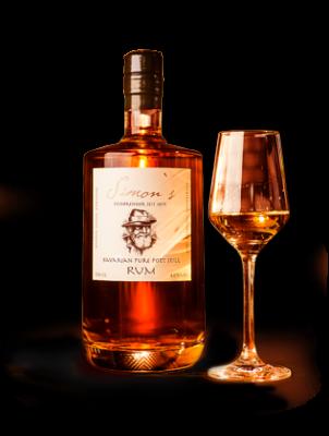 Simons Königlich-Bayerischer-Marine Rum 40%  0,7l