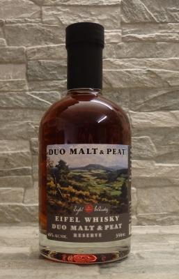 Eifel Whisky Einzelfass Duo Malt & Peat 50%, 0,35l
