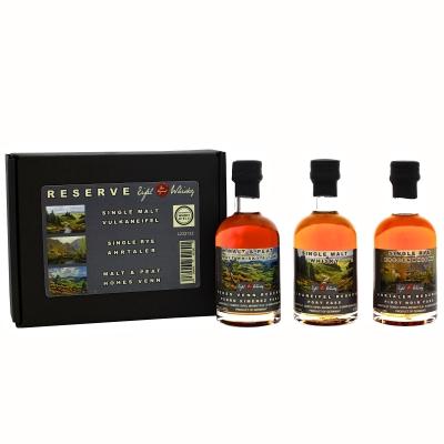 Eifel Whisky Trio Core Range in Geschenkverpackung 3 x 50ml