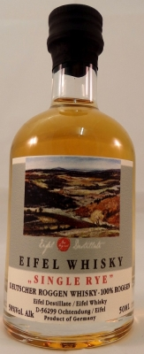 Eifel Whisky Signatur Single Rye 50%, 4 Jahre 0,05l