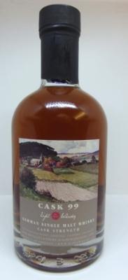 Eifel Whisky Cask 99 Single Malt Cask Strength 54,5% 4 Jahre 0,2l