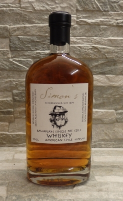 Simon's Bavarian Single Pot Still Whiskey