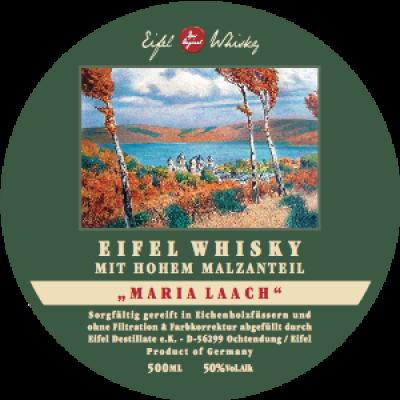 Eifel Whisky Signature Malty Blend Edition Maria Laach 50%, 4 Jahre 0,5l