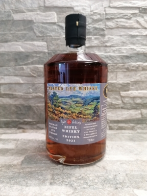 Eifel Whisky 2021 USA Edition - German Peated Rye Whisky 46%vol. 0,7l