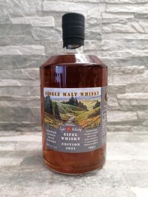 Eifel Whisky 2021 USA Edition - German Single Malt Whisky 46%vol. 0,7l