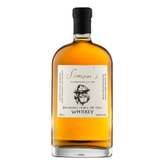 Simon's Bavarian Single Pot Still Whiskey 40% vol. 0,5l