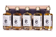 Simon's Whisky Probierbox  5 x 5cl 40-46% vol.