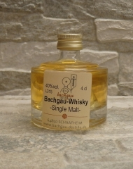 Bachgau-Whisky Single Malt 40% vol. 0,04l