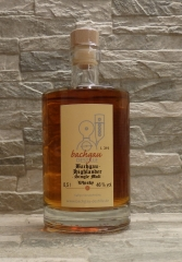 Bachgau-Whisky Highlander Single Malt 46% vol.  0,5l