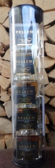 Feller Whisky Miniaturen Set 5 x 5cl  40-48%vol.  0,25l